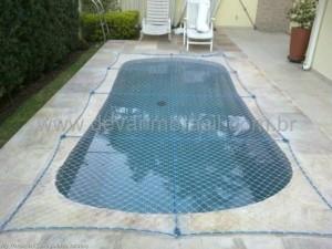 Redes de proteção para piscinas
