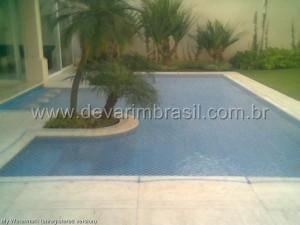 Telas de proteção para piscina