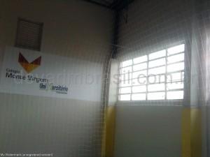 Telas de proteção para quadras esportivas
