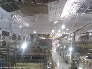 Telas de proteção para segurança do trabalho