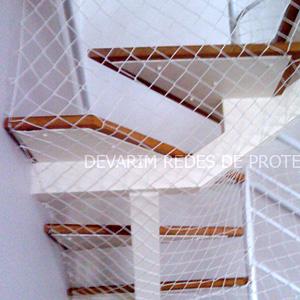 Redes de Proteção Escadas