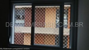 Redes de proteção para janelas